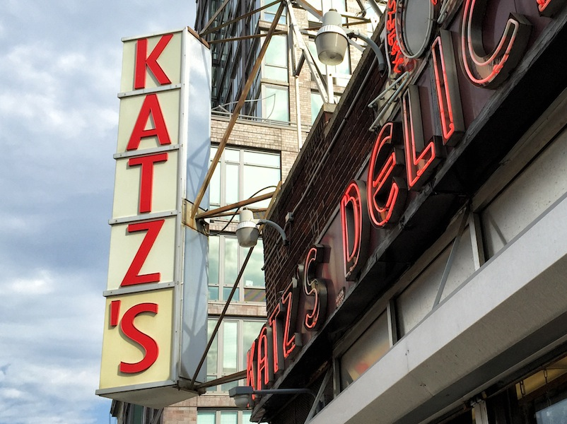 Katz's Deli -- a New York institution