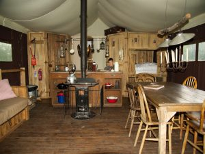 Feather Down Farm Tent Inside