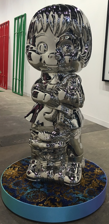 A sculpture at Art Basel