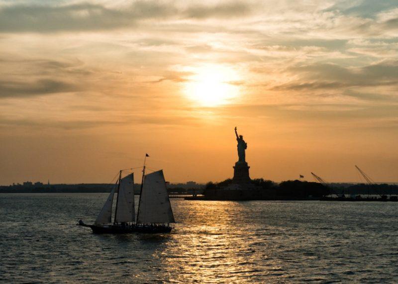 Statue of Liberty in its splendor